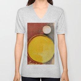 Kuaray and Jacy (Sun and Moon) Unisex V-Neck