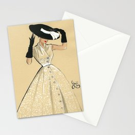 """""""The hat"""" Stationery Cards"""