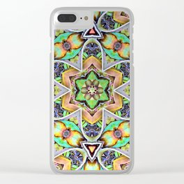 Natural Pattern No 2 Clear iPhone Case