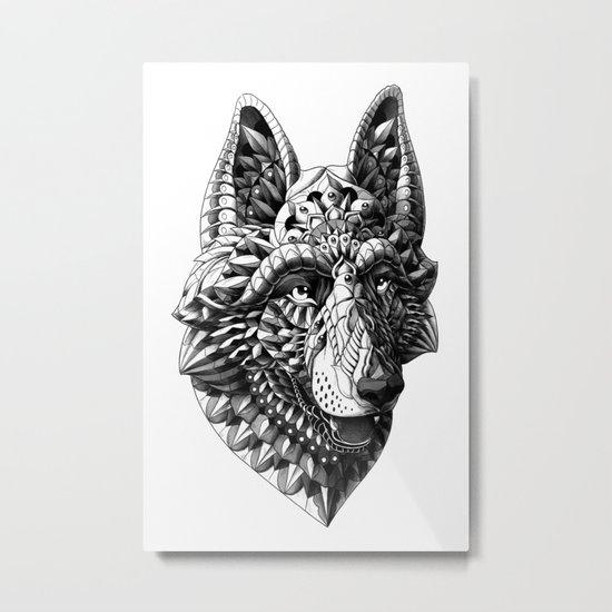 German Shepherd Metal Print