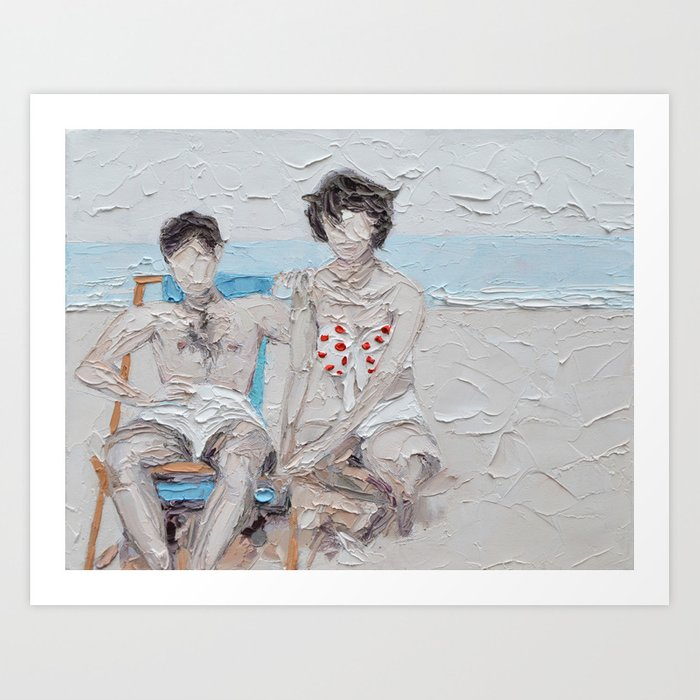 Italo and Gloria Art Print