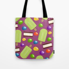 Lime Pops & Jelly Beans Tote Bag