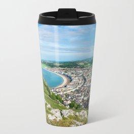 Llandudno Panorama Travel Mug