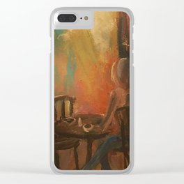 An Apology Clear iPhone Case