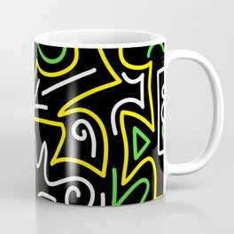 A-Mazing Neon Coffee Mug