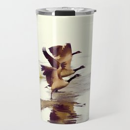 The Take Off - Wild Geese Travel Mug
