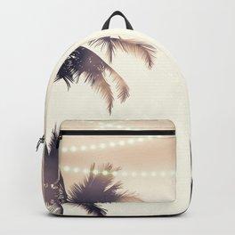 Cream Dream Palm Trees Backpack