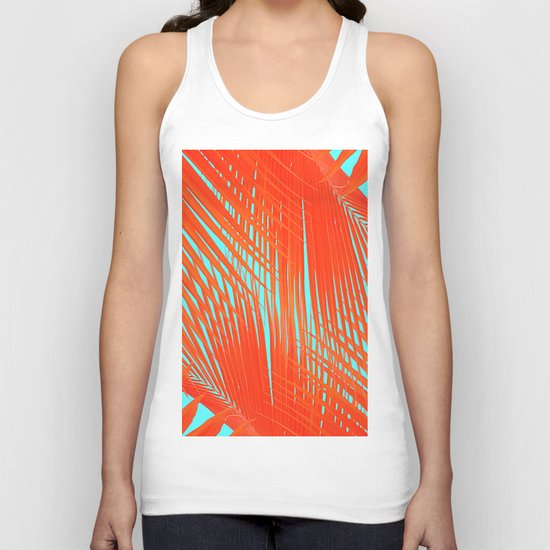 Flame Frenzy Unisex Tank Top