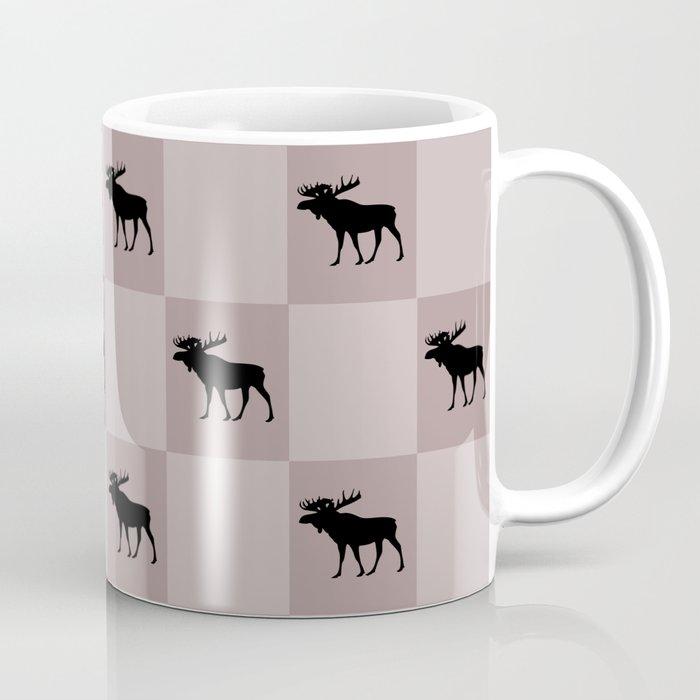 moose cool home pattern Coffee Mug