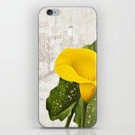 Macro flower 25 iPhone Skin