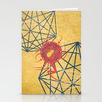 spider Stationery Cards featuring SPIDER by Armin Barducci