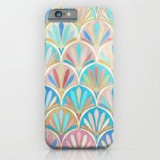 Vintage Twenties Art Deco Pastel Pattern iPhone 6s Slim Case