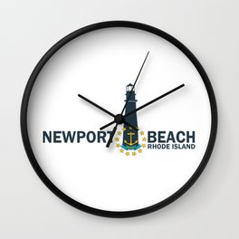 Newport RI Wall Clock