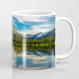 Sawtooth Range Morning Reflection Coffee Mug