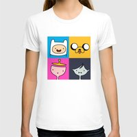 finn and jake T-shirts featuring Finn & Jake by fungopolly