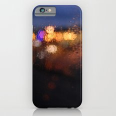 rainy urban night Slim Case iPhone 6s