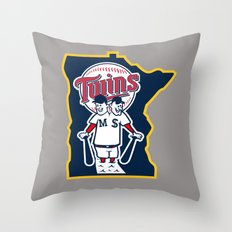 The Conjoined Twins Throw Pillow