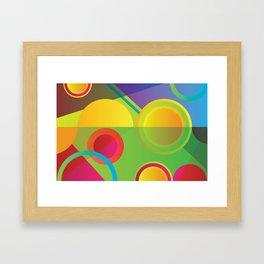 GEOMETRIC GROOVE 1 Framed Art Print