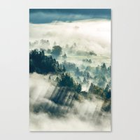 Canvas Prints featuring Return to the Mist by StayWild