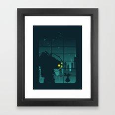 Come on, Mr. Bubbles! Framed Art Print