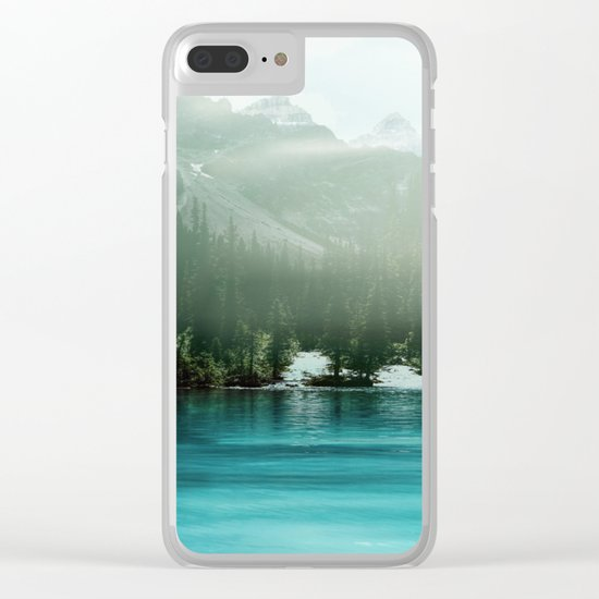 Let me under your skin Clear iPhone Case