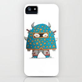 Blue Demon iPhone Case