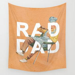 Rad Dad Wall Tapestry