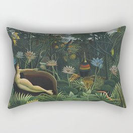 The Dream, Henri Rousseau Rectangular Pillow