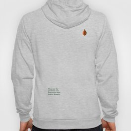 They saw the promises and welcomed them from a distance. Hoody