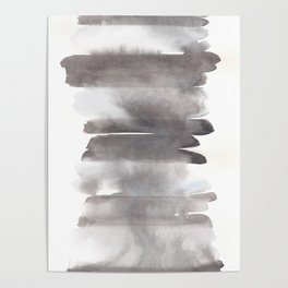 150129 Neutral Cool Abstract 12 Poster