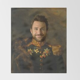 Charlie Day Classical Regal General Painting Throw Blanket