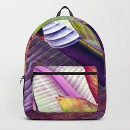 Magic abstract Banana Leaves Backpack