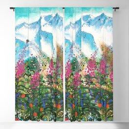 Alyeska Best of Both Wildflower Winter Blackout Curtain