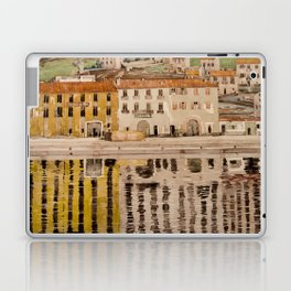 "Charles Rennie Mackintosh ""Quai des Douanes"" Laptop & iPad Skin"