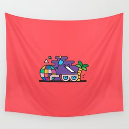 Beach or Bum it Wall Tapestry