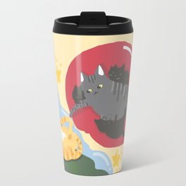 The creation of Cat Travel Mug