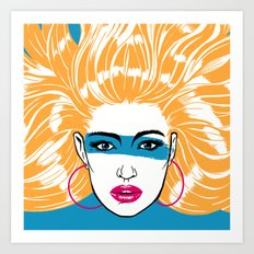 Summer Blonde '82 Art Print