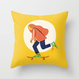 MadMax Throw Pillow