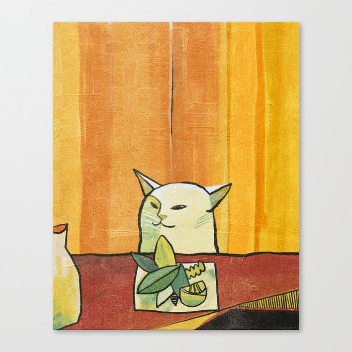 cat (2019) Canvas Print