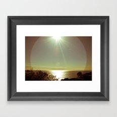 Sea Scape Framed Art Print
