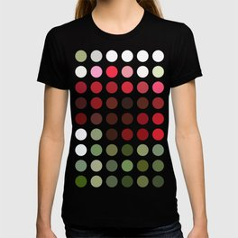 Red Rose with Light 1 Dots T-shirt
