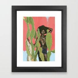 KAKTO Framed Art Print