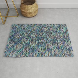 Spiral Impedance Projector Rug