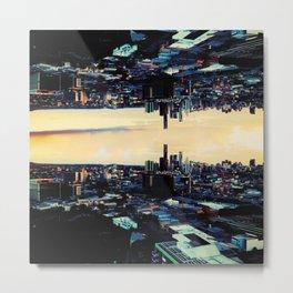 Wonderland Cityscape Metal Print