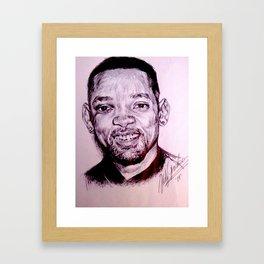 Smile Brother Framed Art Print