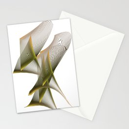 Mathematical Portrait of a Dinosaur Stationery Cards