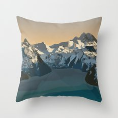 Garibaldi Park Poster Throw Pillow