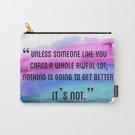 Unless Someone Lorax Carry-All Pouch