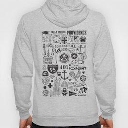 Providence Rhode Island Print Hoody