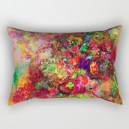 Geranium abundance Rectangular Pillow